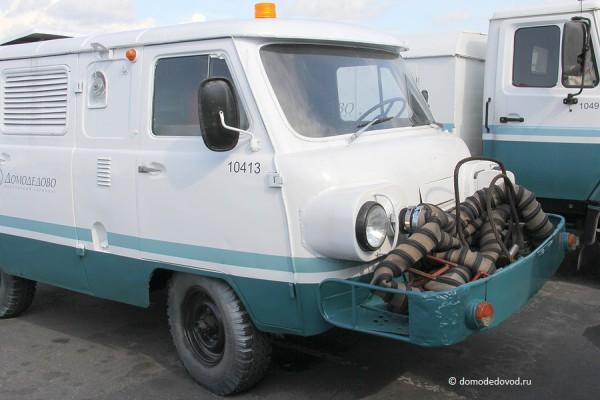 УАЗ с самолетным двигателем