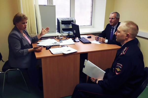 Приемная Общественного совета при Управлении на транспорте МВД России по ЦФО