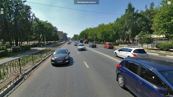 Каширское шоссе до ремонта