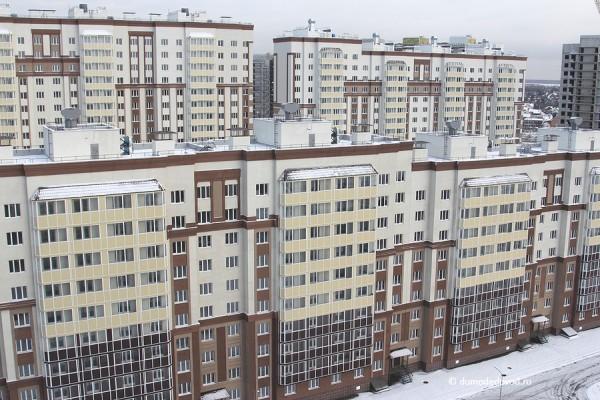 Дома 23, 22, 24 Новое Домодедово