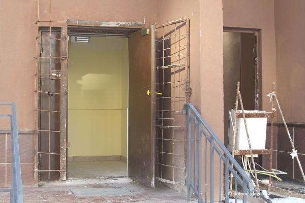 Дверь в подъезд  дома 19 Новое Домодедово