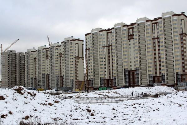 Фундамент школы в Новом Домодедово