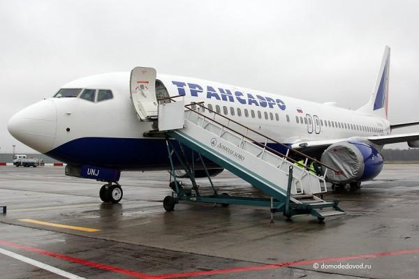Boeing-737 авиакомпании Трансаэро