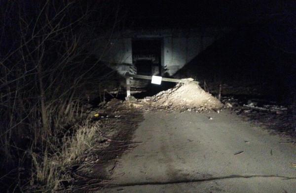 Железнодорожный прокол в Буняково
