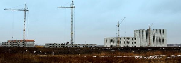 ЖК «ДОМодедово Парк» общий вид с Домодедовского шоссе