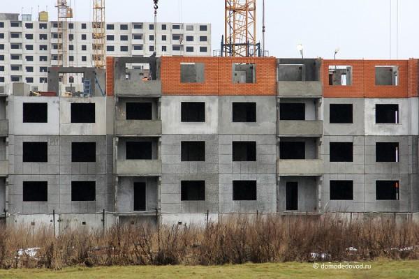 Строящиеся дома в  ЖК «ДОМодедово Парк»