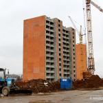 Строительство второй очереди новостройки Гюнай по ул. Текстильщиков