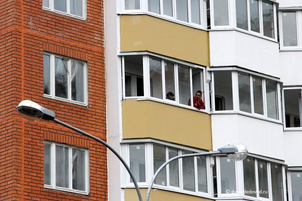 Рабочие в доме на ул. Текстильщиков