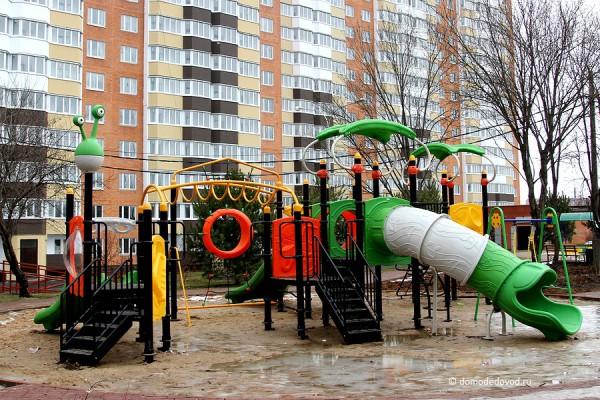 Детская площадка на ул. Текстильщиков