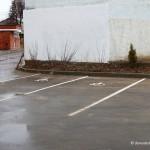 Парковка возле