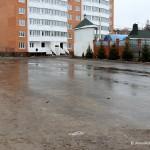 Внутренний двор дома на Гагарина, 58