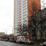 Вид на новостройку Гюнай по ул. Гагарина, 58