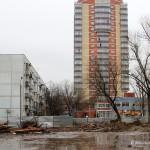 Вид на новостройку Гюнай на ул. Гагарина