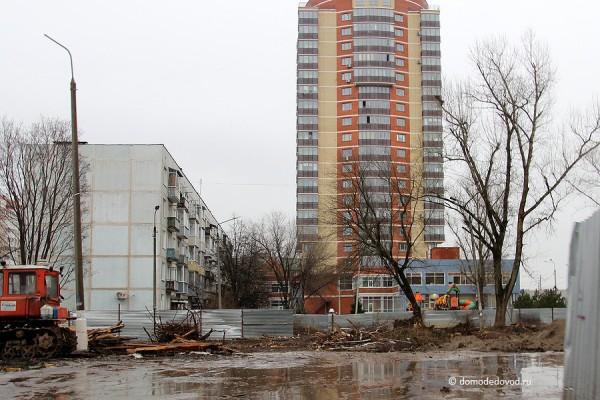 Новостройка Гюнай в Домодедово на пересечении улиц Гагарина и Речная