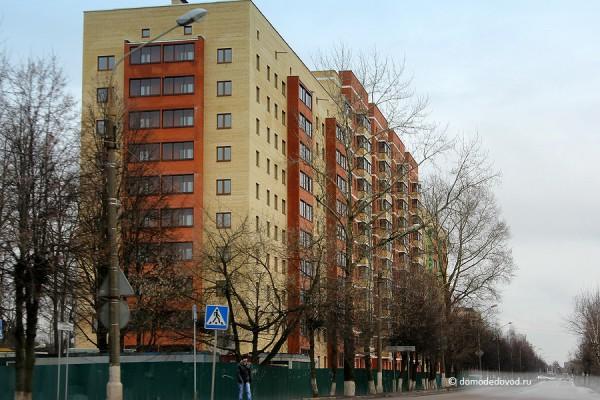 Новостройка на Советской. Вид от храма