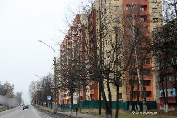 Новостройка на Советской. Вид с ул. 8 Марта