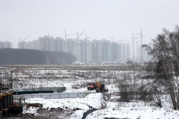 Вид на «Новое Домодедово» и «Южное Домодедово»