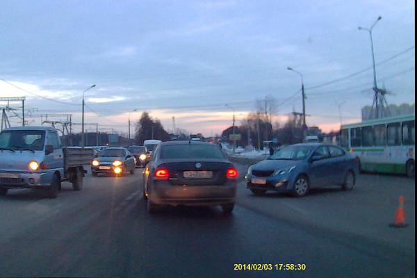 ДТП у Карусели 03.02.14