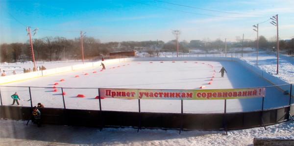 Хоккейная коробка в Житнево