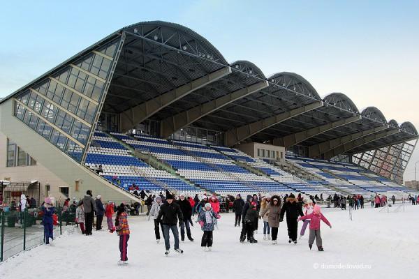 """Каток на стадионе """"Авангард"""" в Домодедово"""