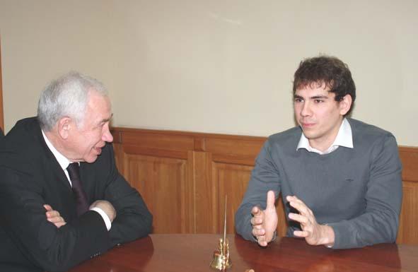 Л.Ковалевский и Дмитрий Лисов