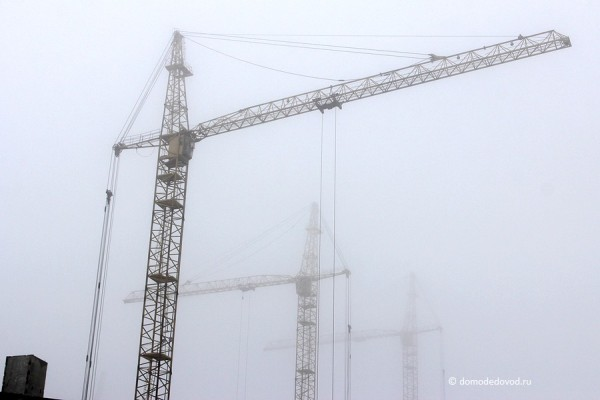 Туманные перспективы Южного и Нового Домодедово. Фотографии