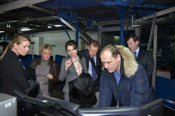 Полицейские Нидерландов посетили дежурную часть линейного управления  Домодедово