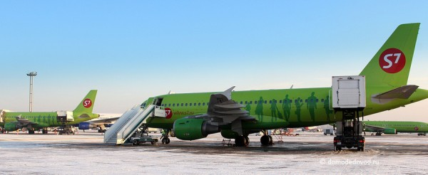 "Авиакомпания S7 ""Сибирь"" в аэропорту Домодедово"