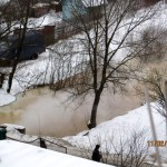 Канализационный пруд в Востряково