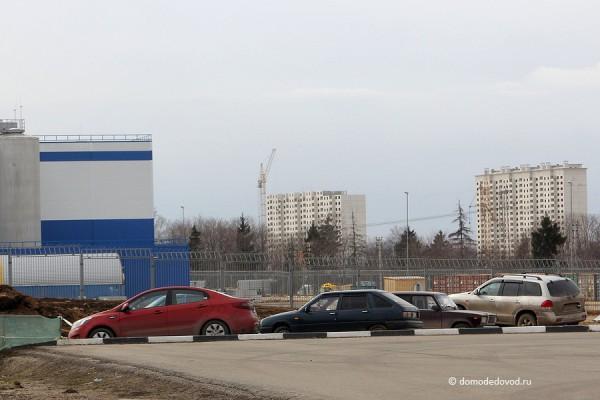 ЖК Домодедово Парк. Фотообзор март 2014. Завод Пепси