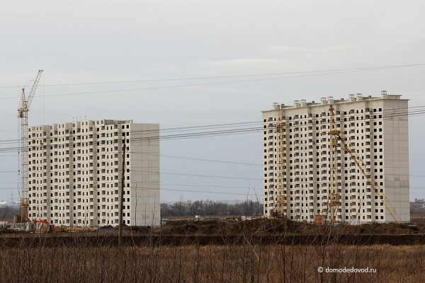 ЖК Домодедово Парк. Корпус 103 и корпус 104.