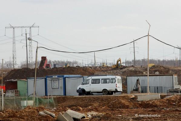 ЖК Домодедово Парк. Вид на Домодедовское шоссе