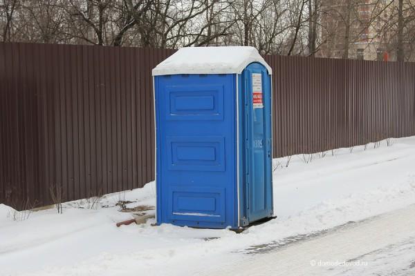 Строители уехали - туалет остался
