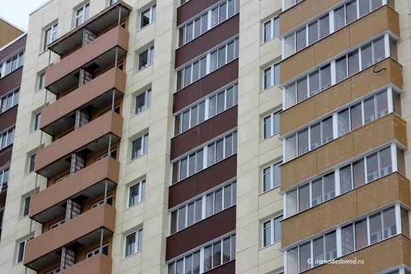 Незастекленные балконы
