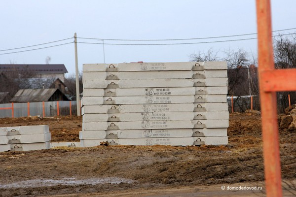 Строительная площадка на улице Кирова