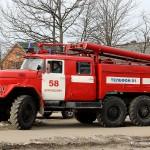 Пожарная машина Домодедово