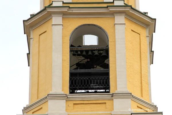 Колокольня Никольского храма в селе Домодедово