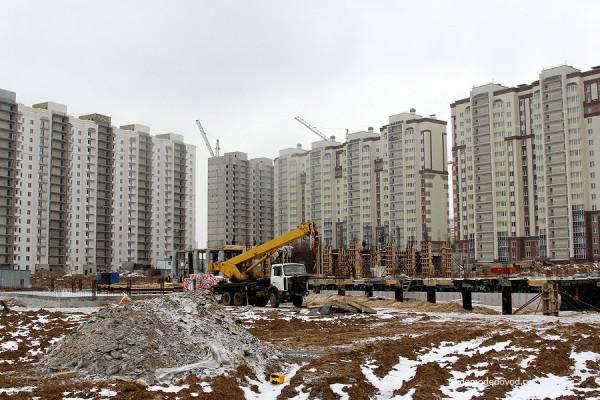 Дома №25, 24 и 22, школа в Новом Домодедово