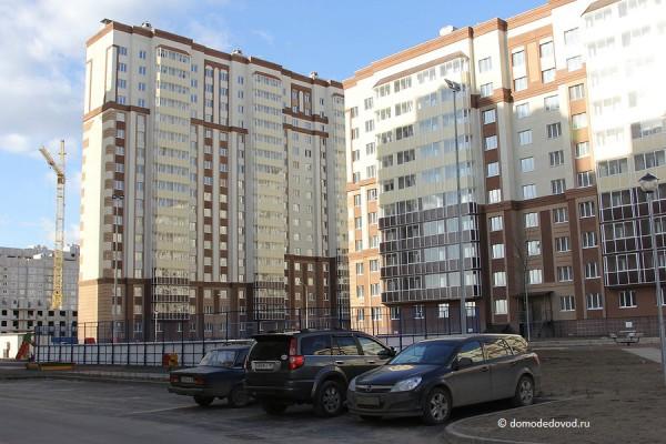 Новое Домодедово. Весна 2014