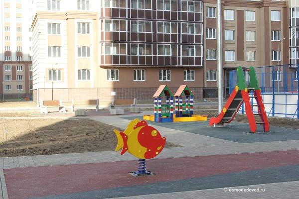 Детская площадка во дворе ЖК «Новое Домодедово»
