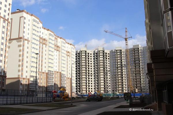 Двор в ЖК «Новое Домодедово»