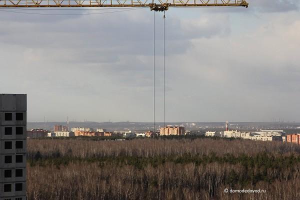 Вид в сторону центра города