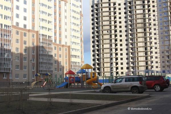 Во дворах ЖК «Новое Домодедово»