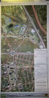 Планировка территории автомобильной дороги «Центральная-2» в Домодедово
