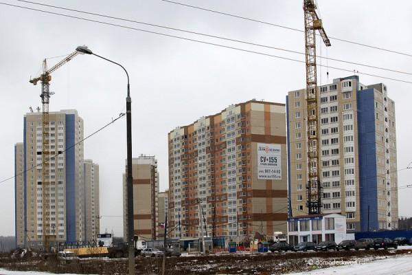 Южное Домодедово. Строительство ведет СУ-155