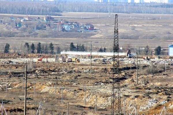 Свалка около села Домодедово и ЖК Домодедово Парк