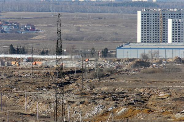 Свалка в Домодедово. 12 марта 2014 года