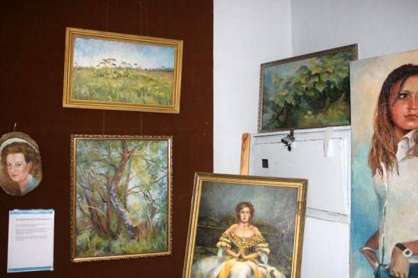 Выставка картин в музее Домодедово