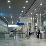 Аэропорт Домодедово. Пост таможни. Вылет