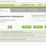 Электронная регистратура в Домодедово